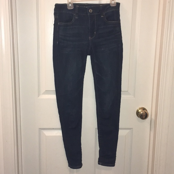 American Eagle Outfitters Denim - American Eagle Outfitters Dark Wash Jeggings